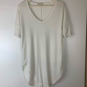 Cherish Creamy White Tunic-S